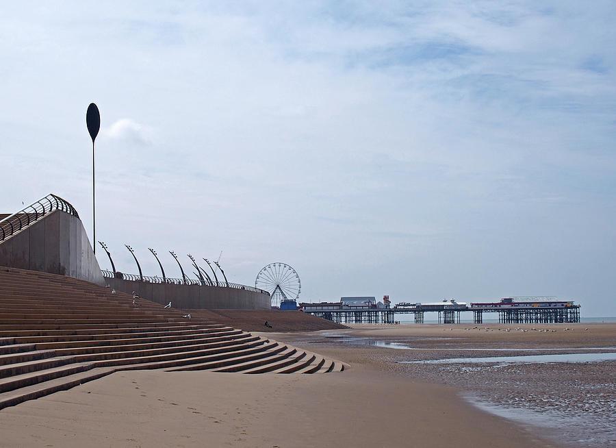 Blackpool Beach  by Philip Openshaw