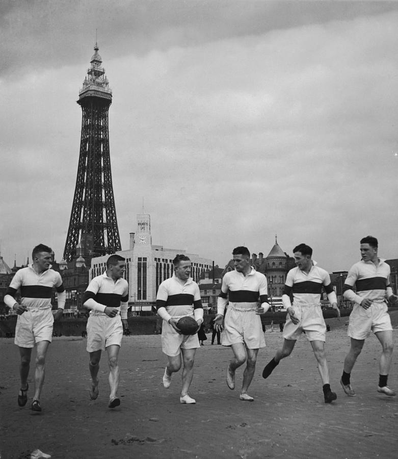 Blackpool Training Photograph by Fox Photos