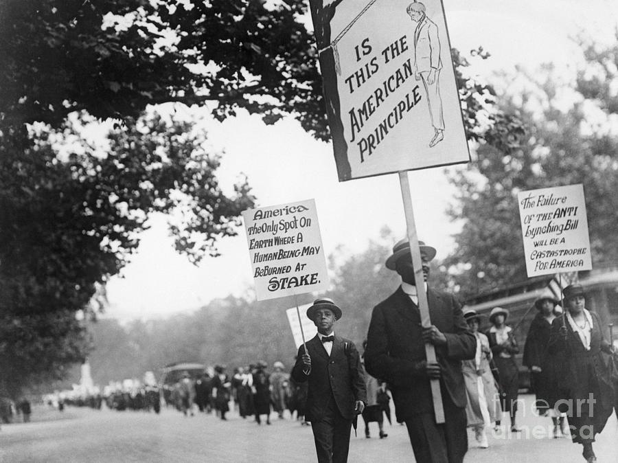 Blacks March Against Lynching Photograph by Bettmann