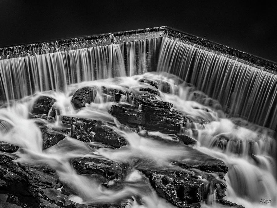 Blackstone Photograph - Blackstone River Xviii Bw by David Gordon