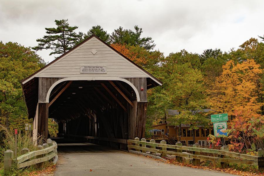 Blair Covered Bridge by Jeff Folger