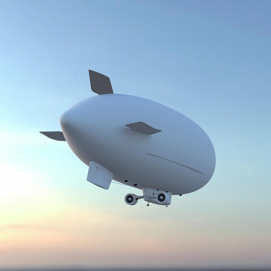 Blimp Photograph by Luismmolina