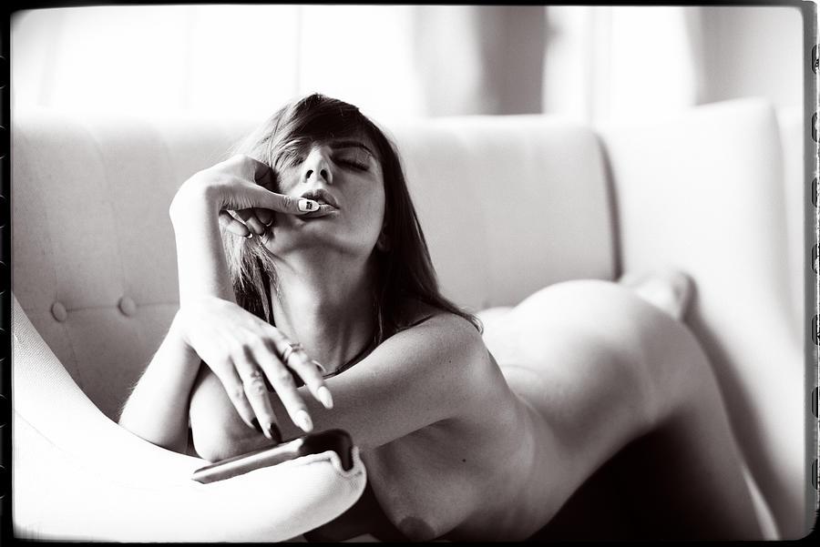 High Key Photograph - Bliss by Georgy Goryunov