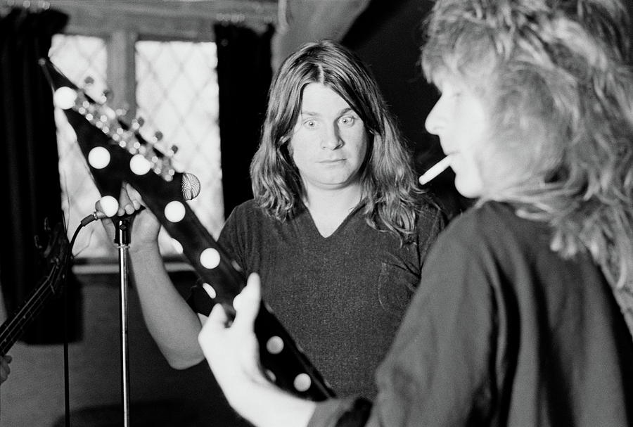 Blizzard Of Ozz Sessions Photograph by Fin Costello