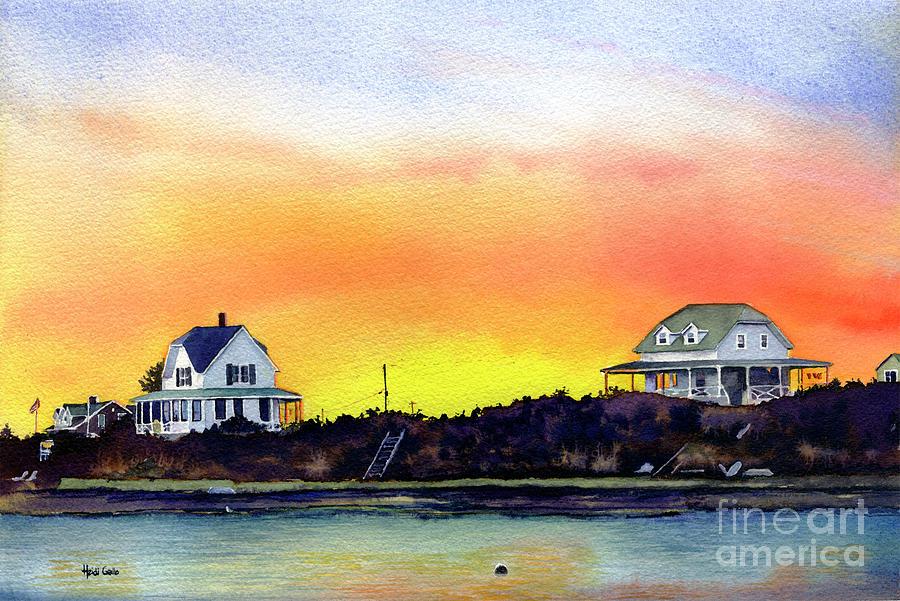 Block Island Sunrise by Heidi Gallo