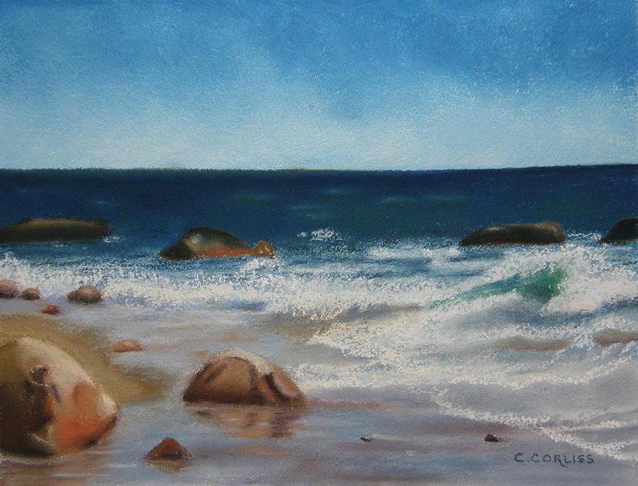 Block Island Surf by Carol Corliss