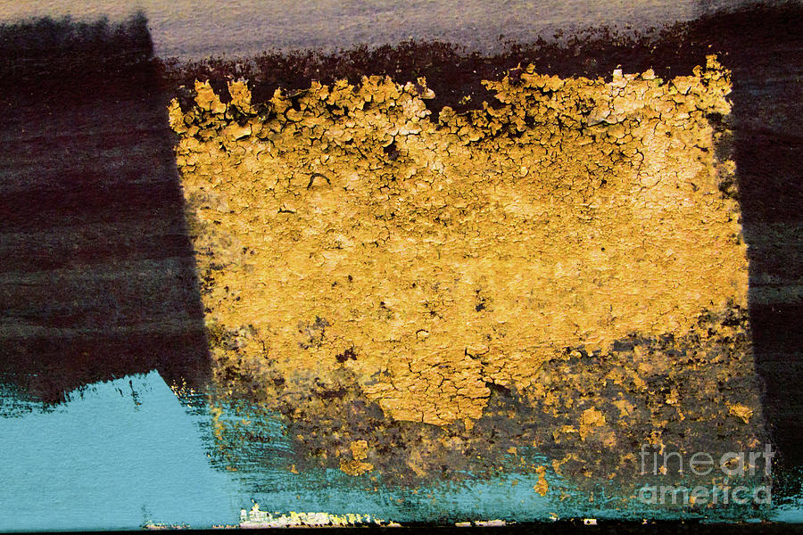 Abstracts Photograph - Block Print by Marilyn Cornwell