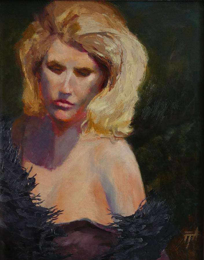 Blond in Black by Irena Jablonski