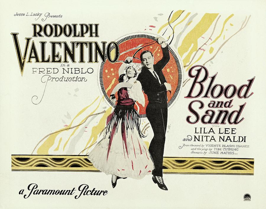 Blood And Sand Painting - Blood And Sand, 1922 by Vincent Monozlay