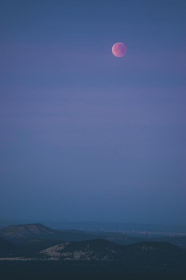 Blood Moon over Northern Arizona by Ryan Lima