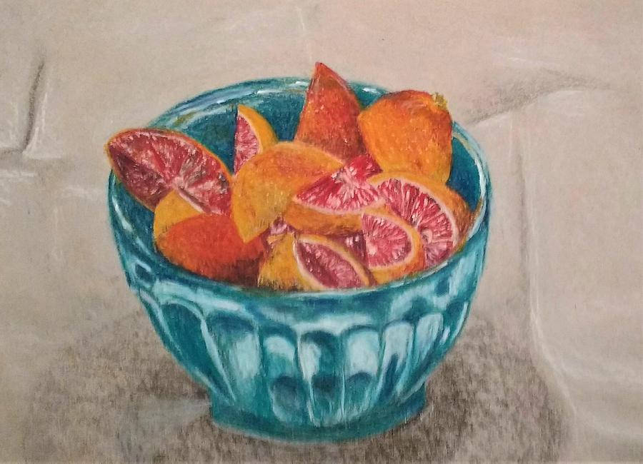 blood oranges by Violet Jaffe