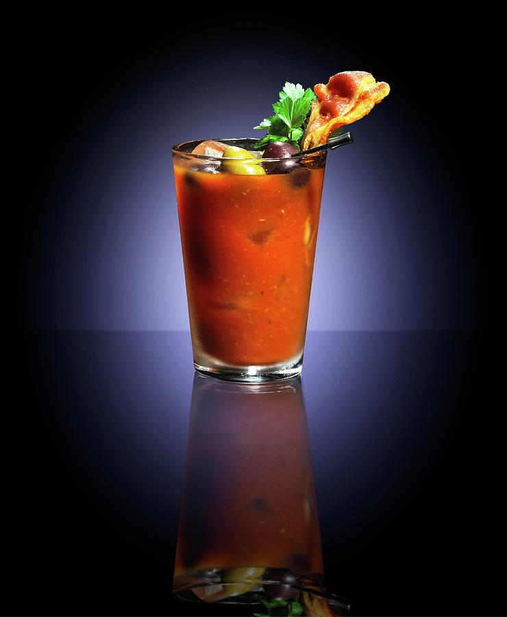 Bloody Mary Photograph by Annabelle Breakey