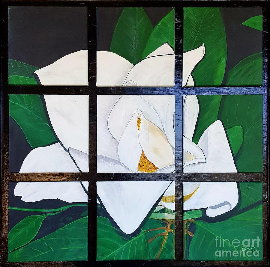 Blooming Magnolia by Elizabeth Dale Mauldin