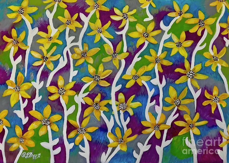 Blooming Yellow Stars by Caroline Street