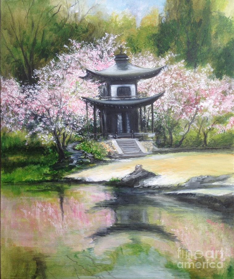 Blossom Embrace Painting