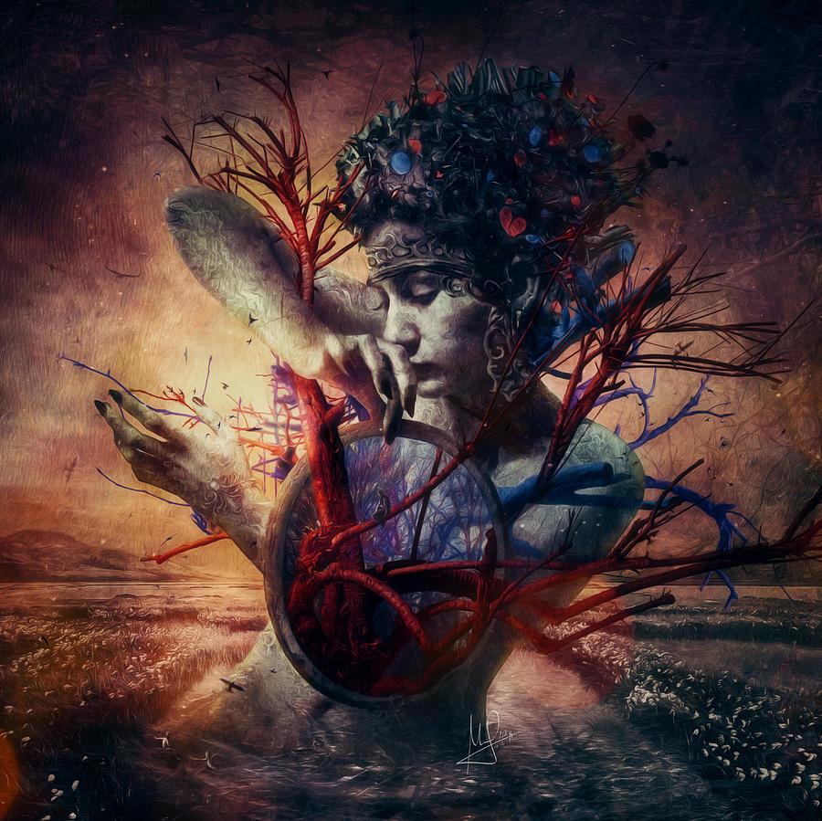 Love Mixed Media - Blossom by Mario Sanchez Nevado