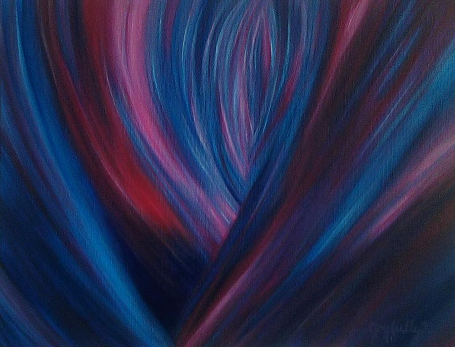 Abstract Painting - Blossoming by Melissa Joyfully