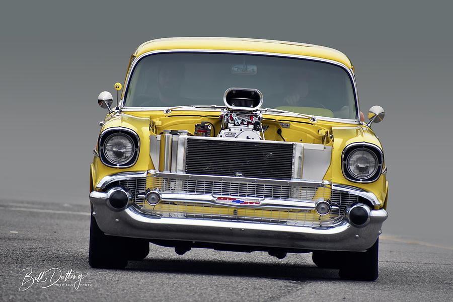Chevy Photograph - Blown Bel Air by Bill Dutting