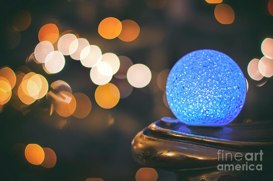 Blu Photograph - Blu Ball by Alessandro Giorgi Art Photography