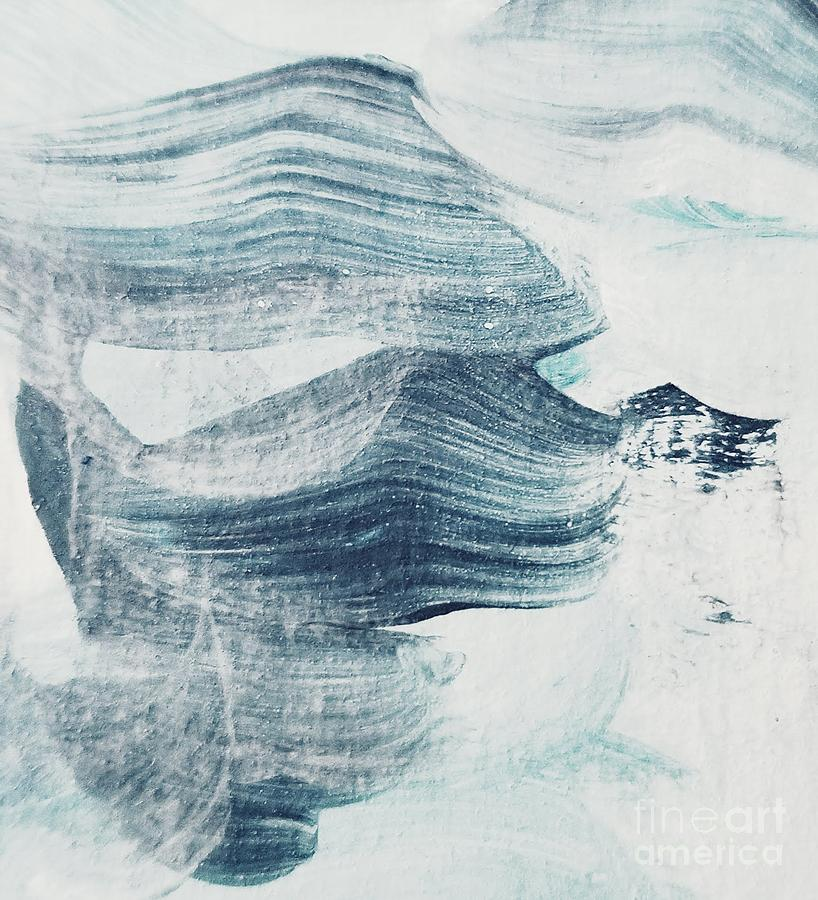 Blue Painting - Blue #1 by Maria Langgle