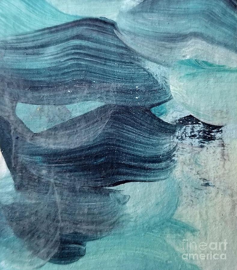 Blue Painting - Blue #3 by Maria Langgle