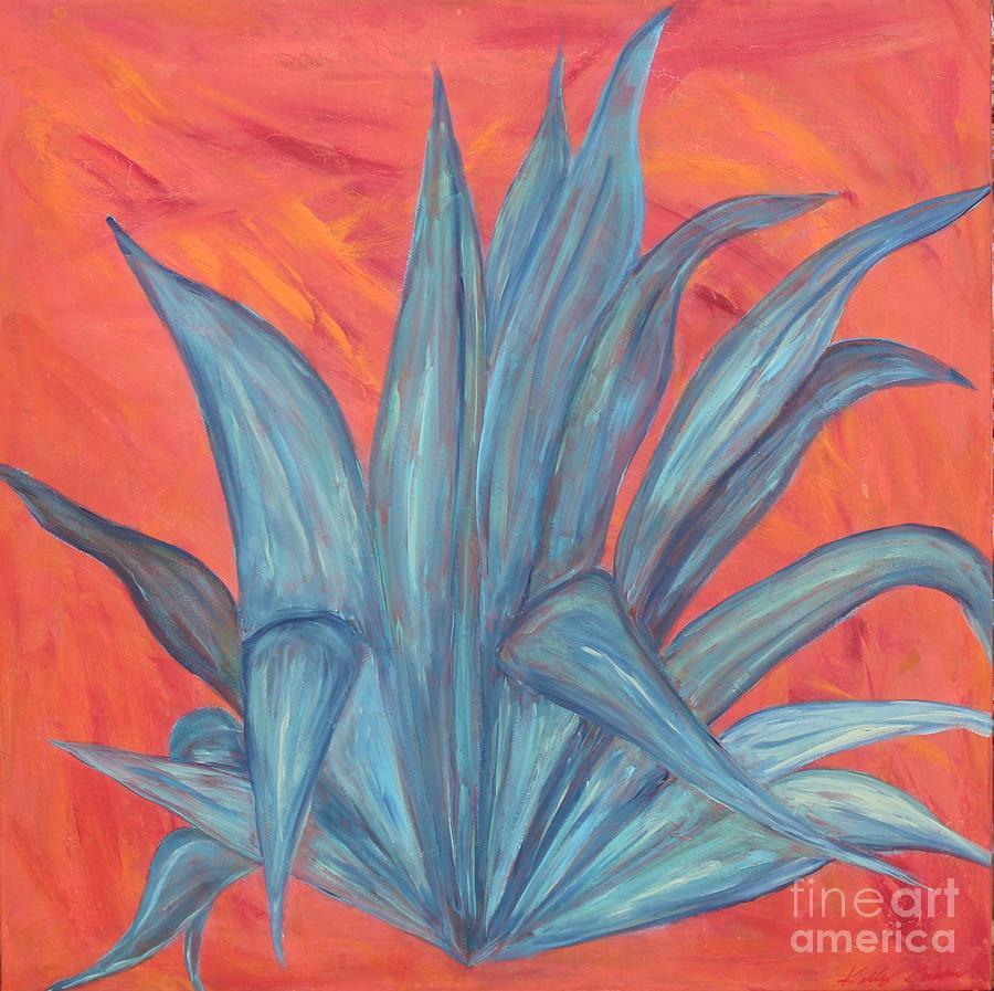 Blue Agave by Kelly Gowan