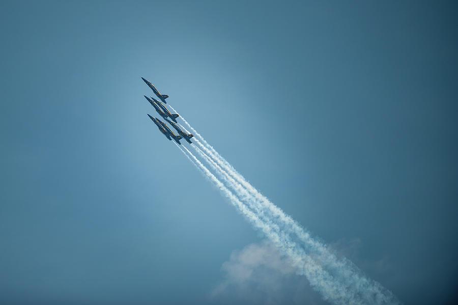 Blue Angel Rockets by Mark Duehmig