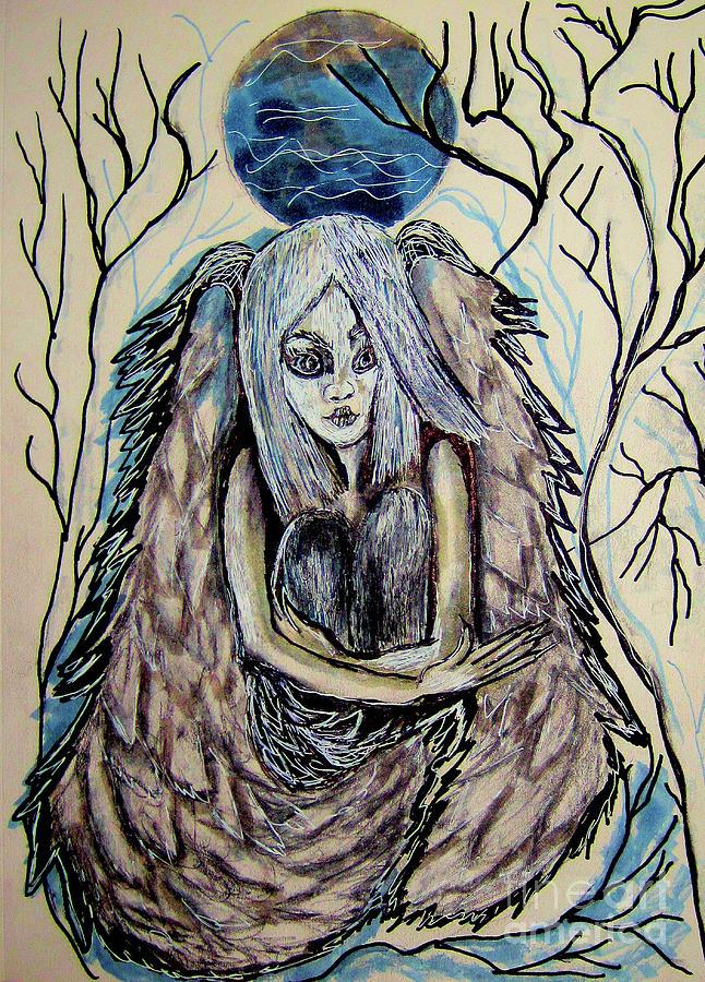 Blue Angel by Sandy DeLuca