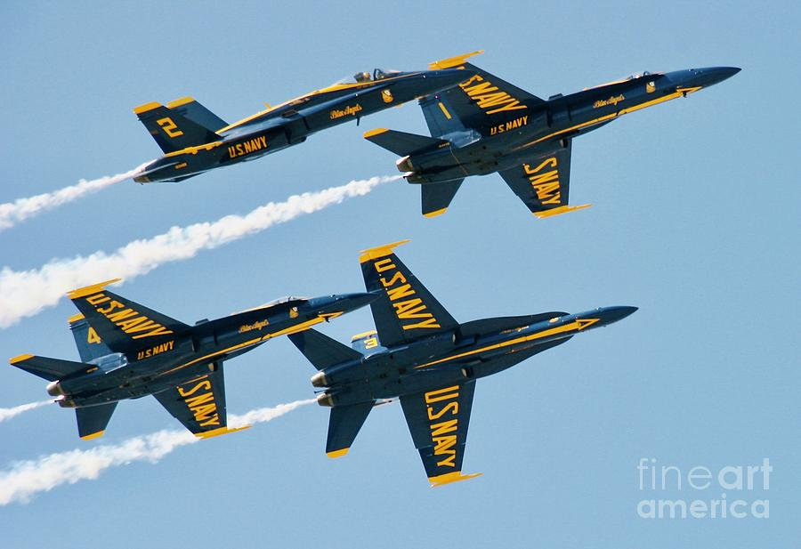 #22 Blue Angels Wow Photograph