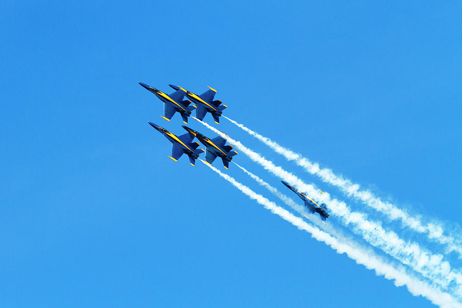 Blue Angels on the Up  by Bonnie Follett