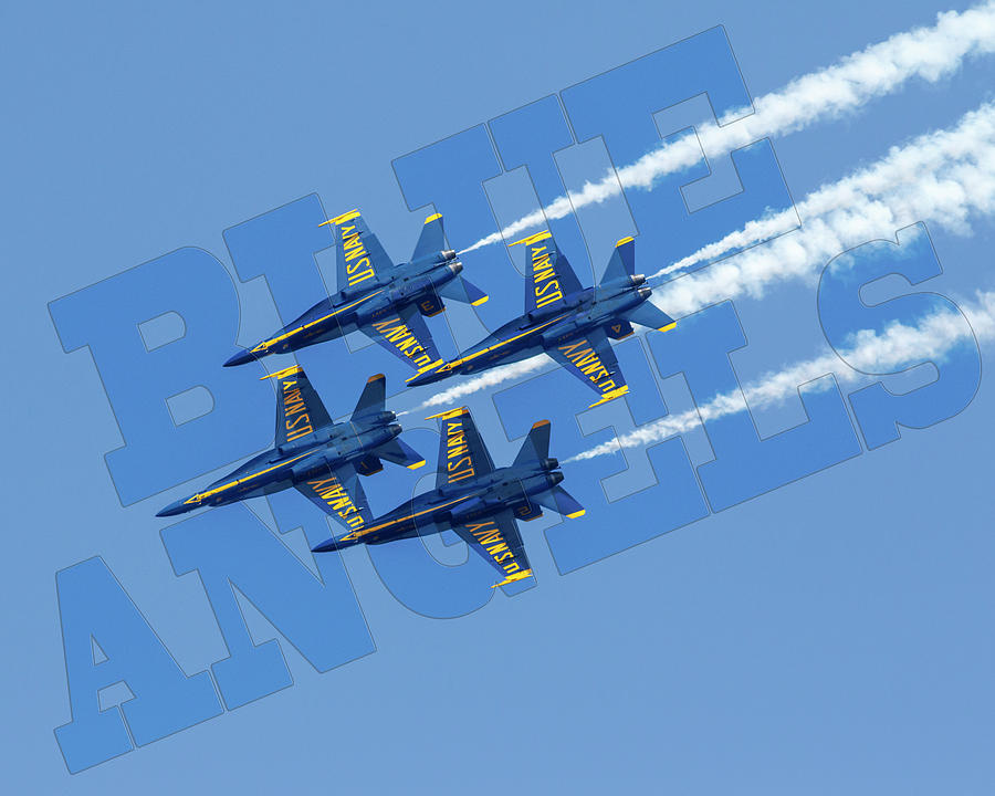 Blue Angels by Wes and Dotty Weber