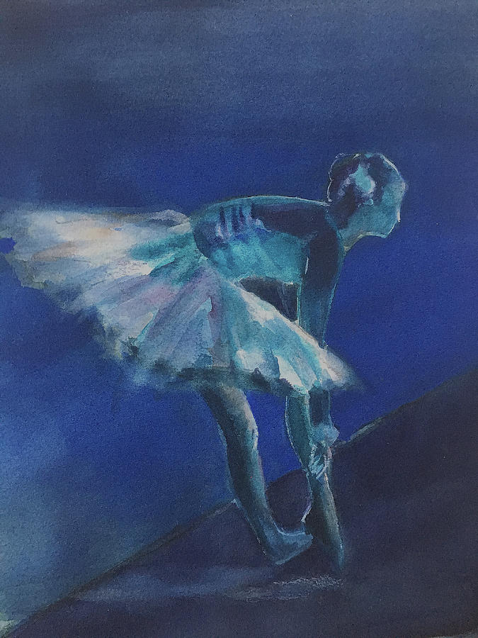 Blue Ballerina by Lynne Atwood