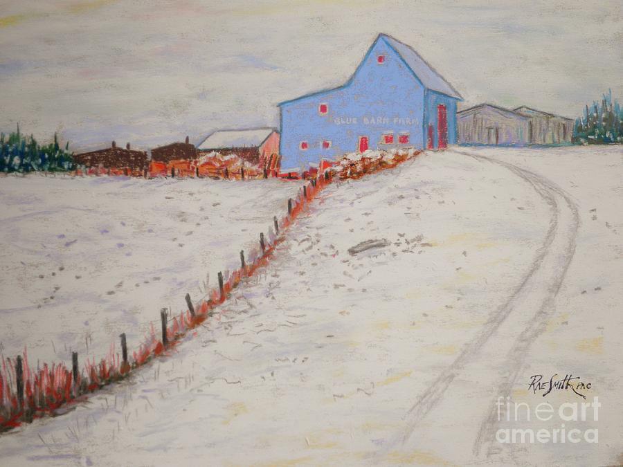 Blue Barn Farm  by Rae  Smith PAC