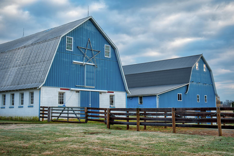 Blue Barns by Mark Dodd