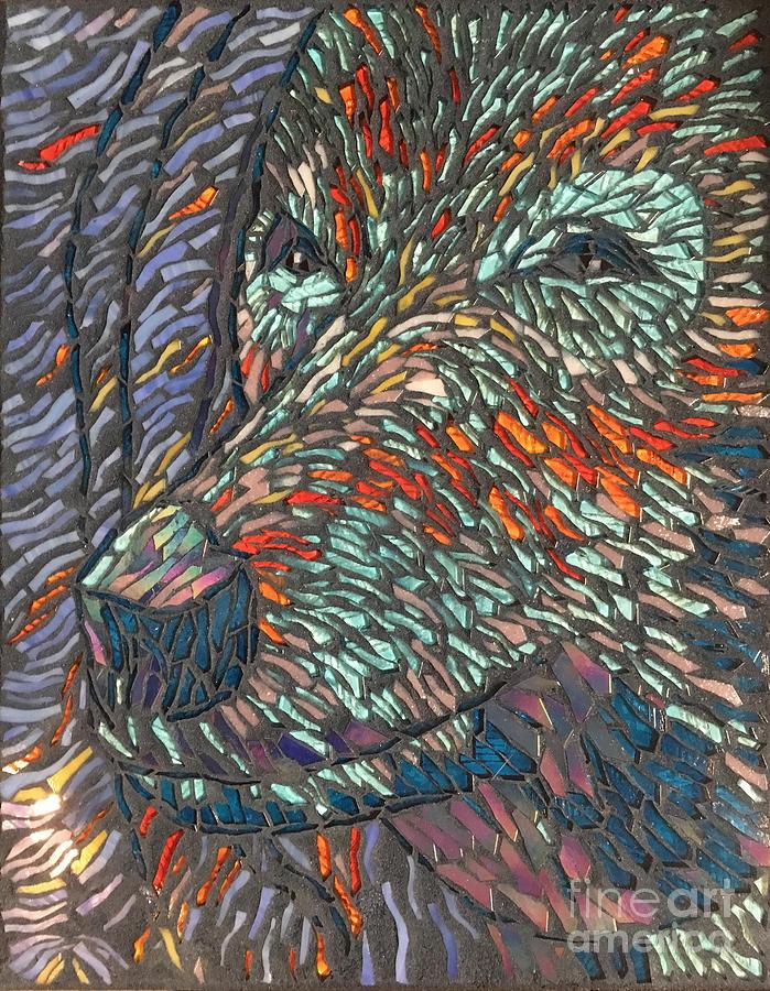 Blue Bear by Annekathrin Hansen