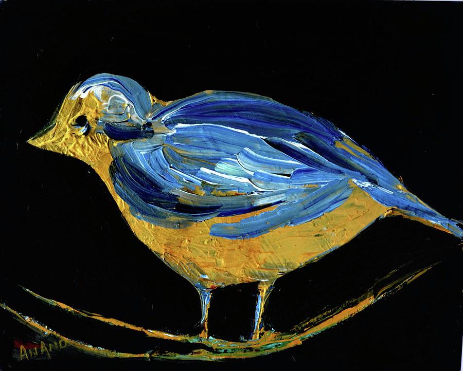 BLUE BIRD-3 by Anand Swaroop Manchiraju