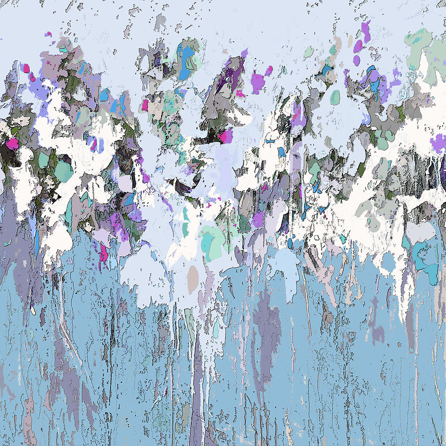 Blue Bloom II by Tracy-Ann Marrison