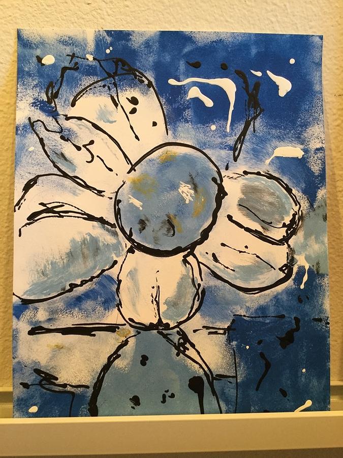Blue Blossom by Joan McArthur