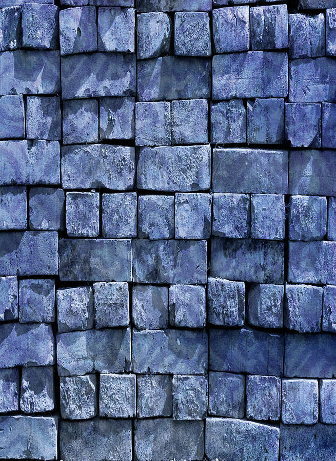 Blue Brickwork by Portraits By NC