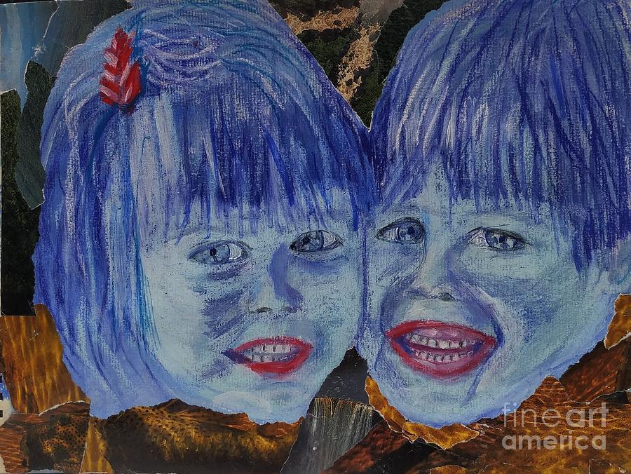 Blue children by Siobhan Dempsey