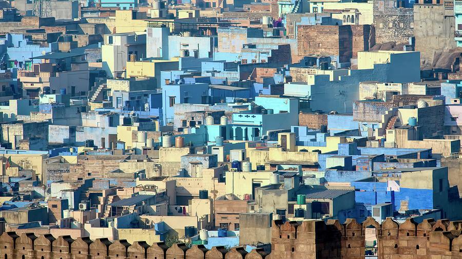 Blue City Vista by James Kenning