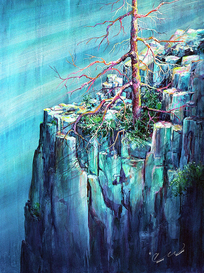 Blue Cliff Tree by Connie Williams