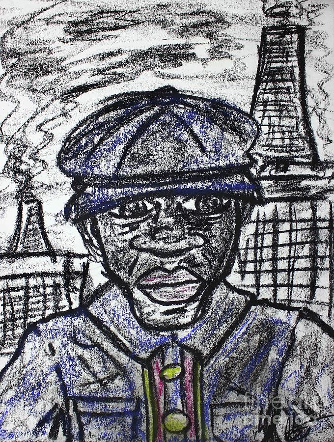 Blue Collar by Odalo Wasikhongo