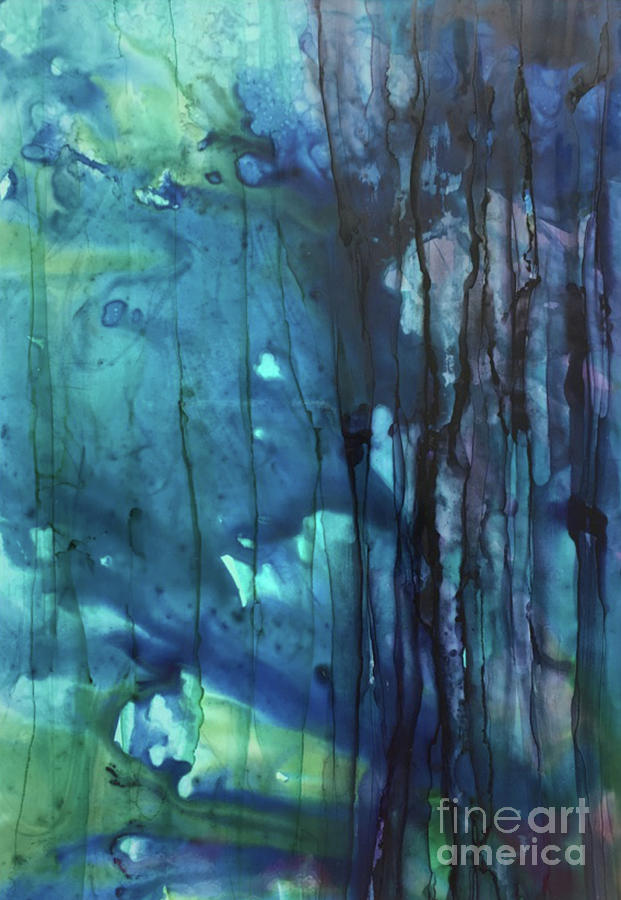 Blue Daze by Christine Chin-Fook