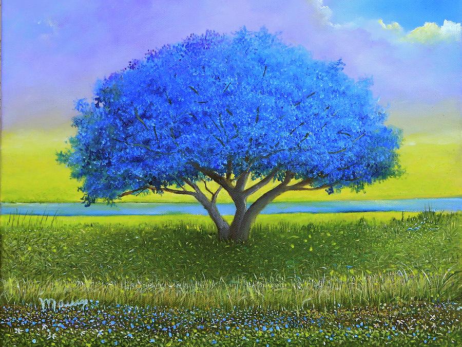 Blue Flamboyant  by Alicia Maury