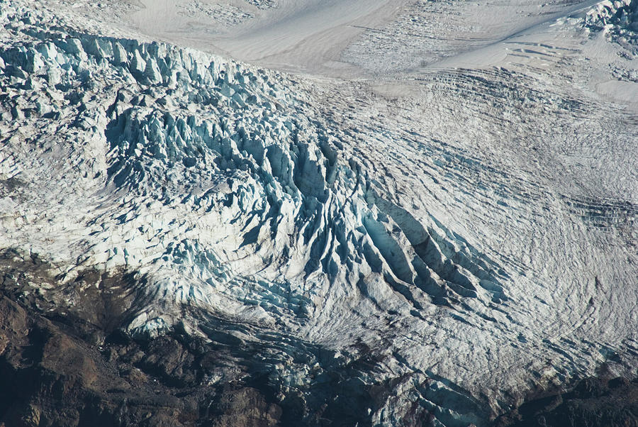 Blue Glacier by Yulia Kazansky