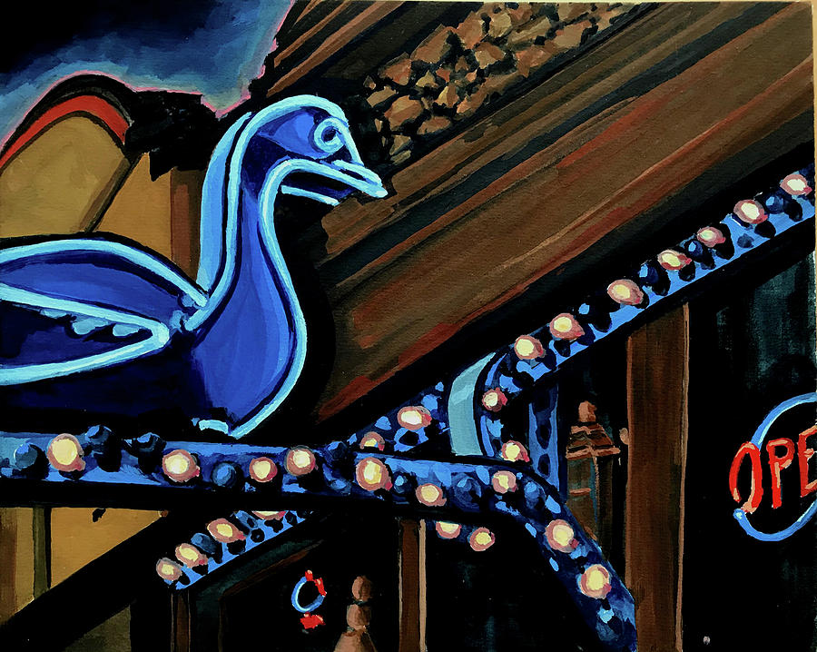 Blue Goose by Les Herman