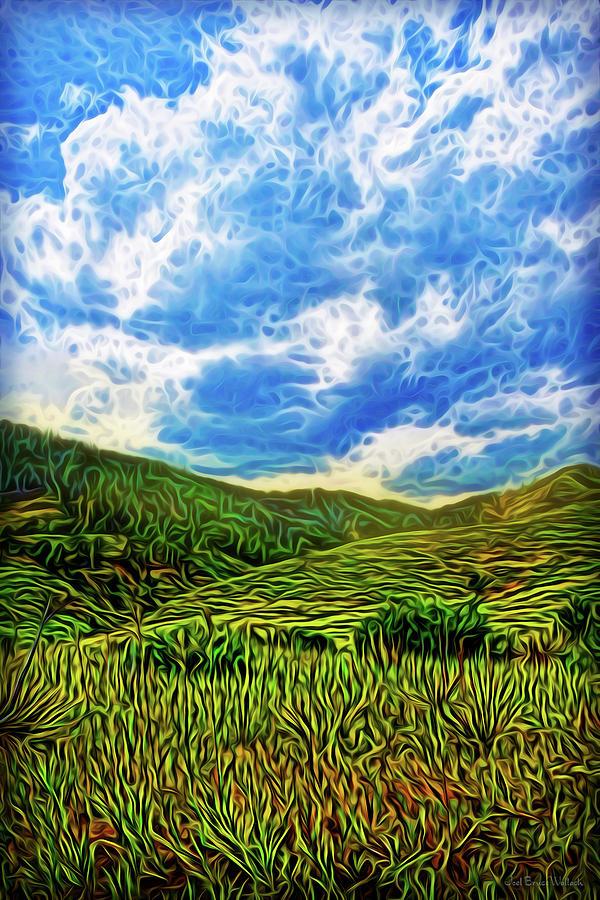 Blue Green Morning by Joel Bruce Wallach