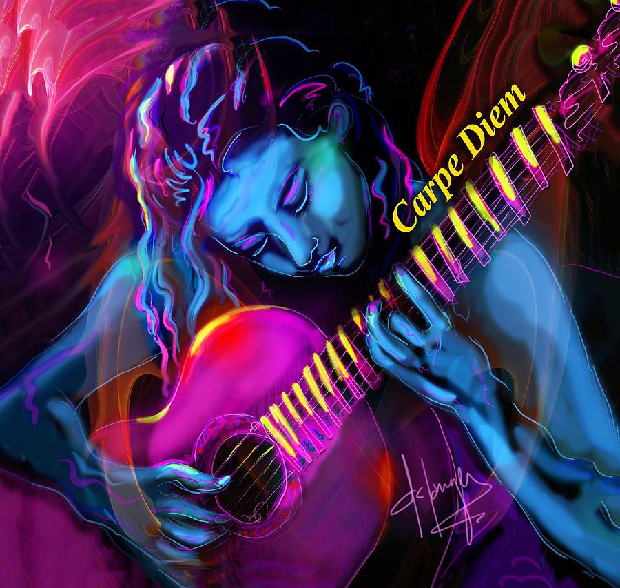 Blue Heart, Carpe Diem by DC Langer