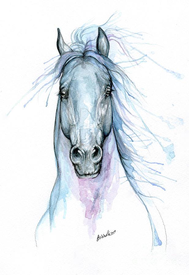 Blue horse 2019 09 11 by Angel Ciesniarska